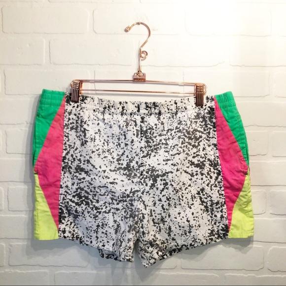 5368a72861 Vintage Swim | 80s90s Neon Splatter Trunks | Poshmark